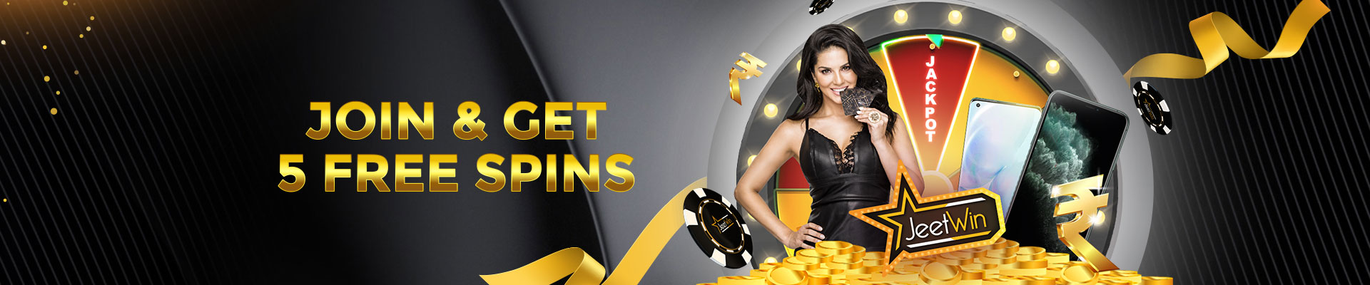 Join and Get 5 Spins
